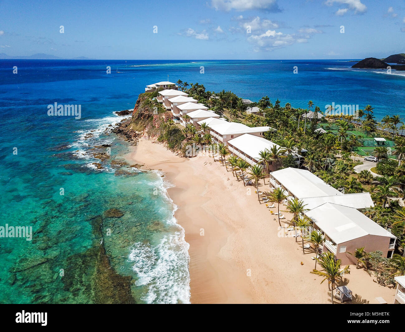 Antigua Curtain Bluff Curtain Bluff Resort Antigua Stock Photo 175561811 Alamy