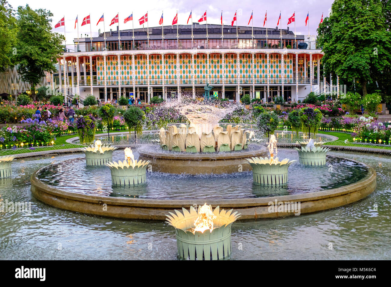 Tivoli Amusement Park Netherlands Tivoli Concert Hall Stock Photos And Tivoli Concert Hall