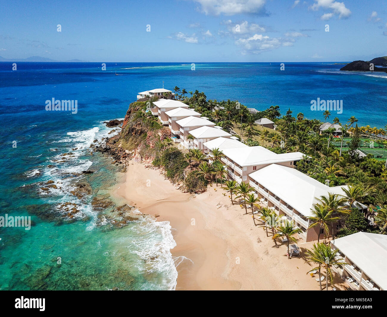 Antigua Curtain Bluff Curtain Bluff Resort Antigua Stock Photo 175912635 Alamy