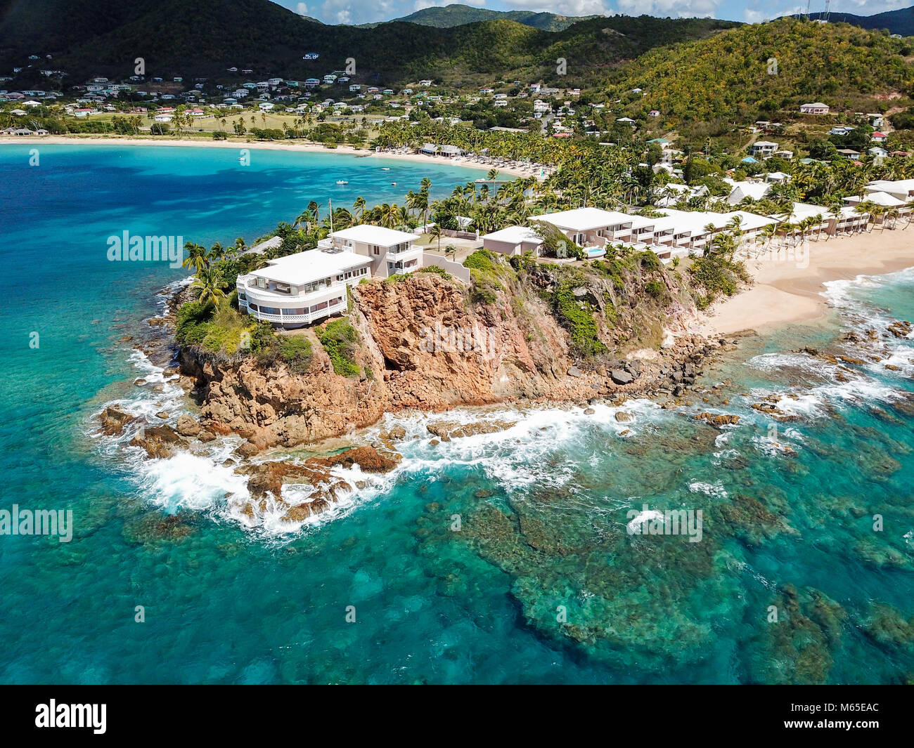 Antigua Curtain Bluff Curtain Bluff Resort Antigua Stock Photo 175912644 Alamy