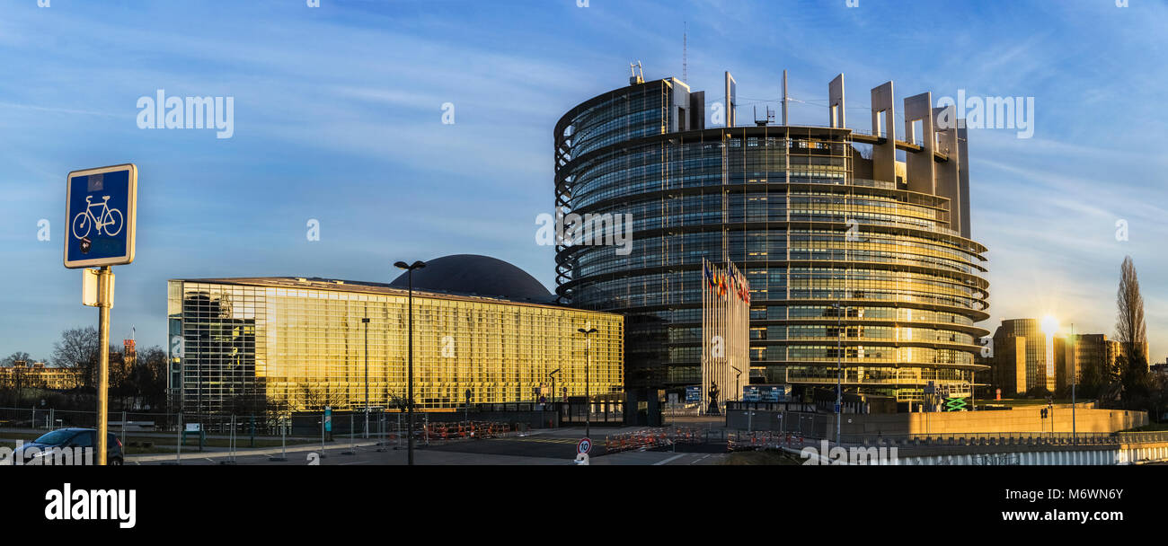 Seat Weiß The Louise Weiss Building Seat Of The European Parliament On