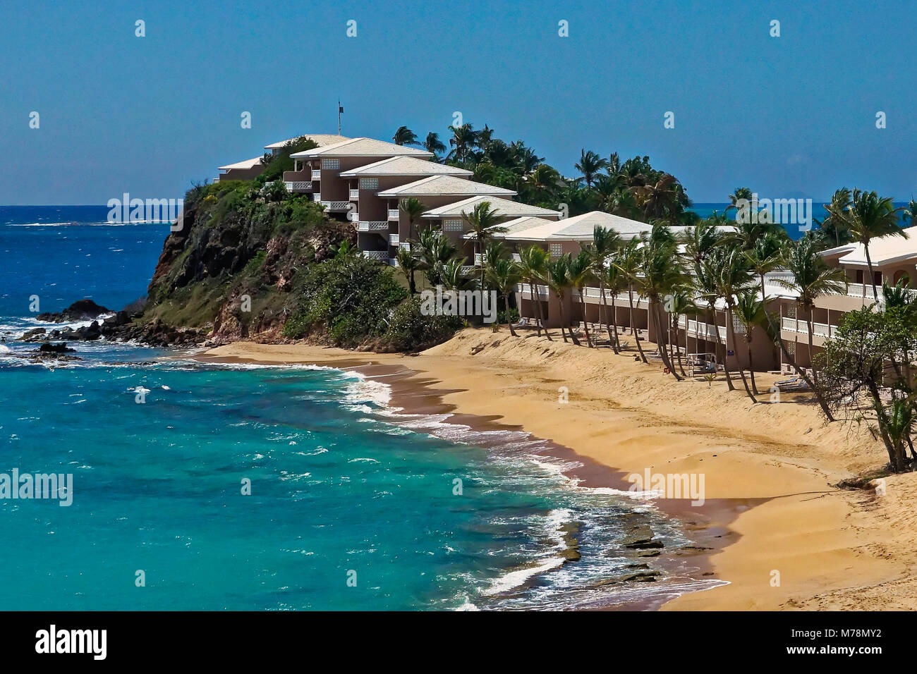 Antigua Curtain Bluff Curtain Bluff Antigua And Barbuda Stock Photo 176598326 Alamy
