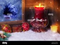 Christmas Window Candles Stock Photos & Christmas Window ...