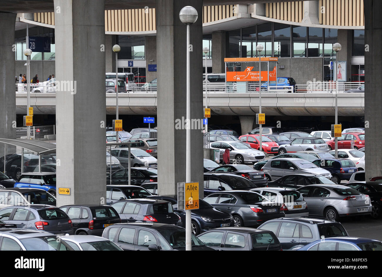 Parking Roissy Cdg Cars Parking Roissy Charles De Gaulle Airport Paris France