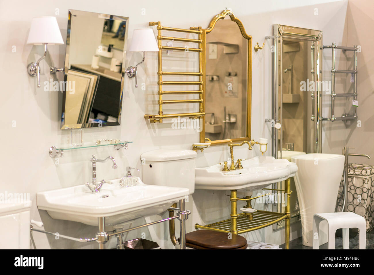 Outlet Brunnthal Shop Bathroom Stock Photos And Shop Bathroom Stock Images