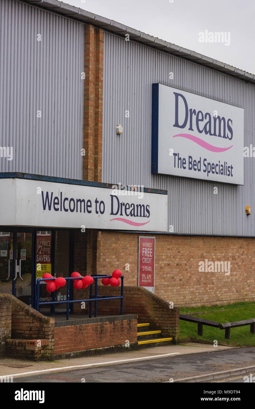 Dreams Beds Northampton Dreams Beds Stock Photos Dreams Beds Stock Images Alamy