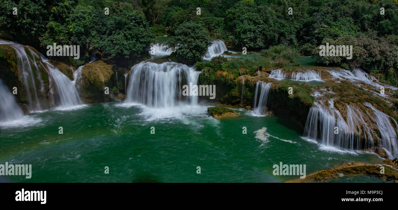 Beautiful One Ban Gioc Detian Water Falls Bangioc Is The Most Beautiful One In