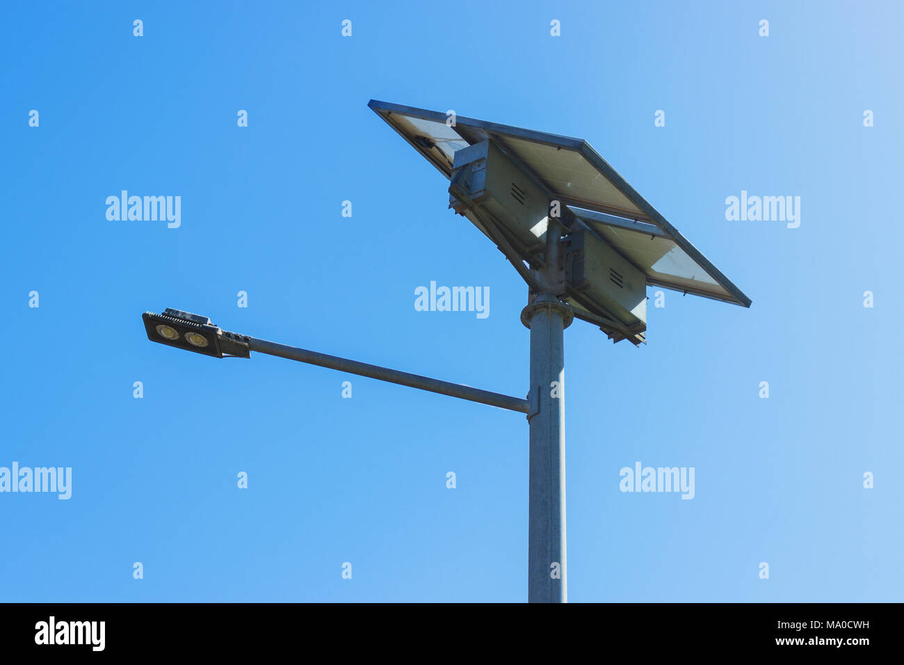 Led Verlichting Met Los Paneel Street Light With Solar Panel Led Lamp Renewable Energy Stock