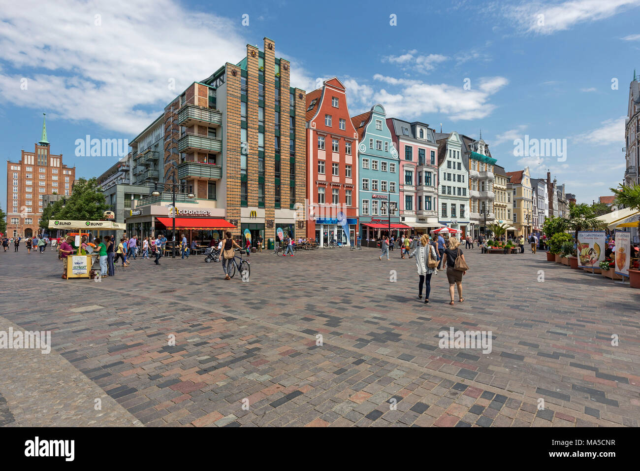 Rostock Shopping Rostock Street Stock Photos Rostock Street Stock Images Alamy
