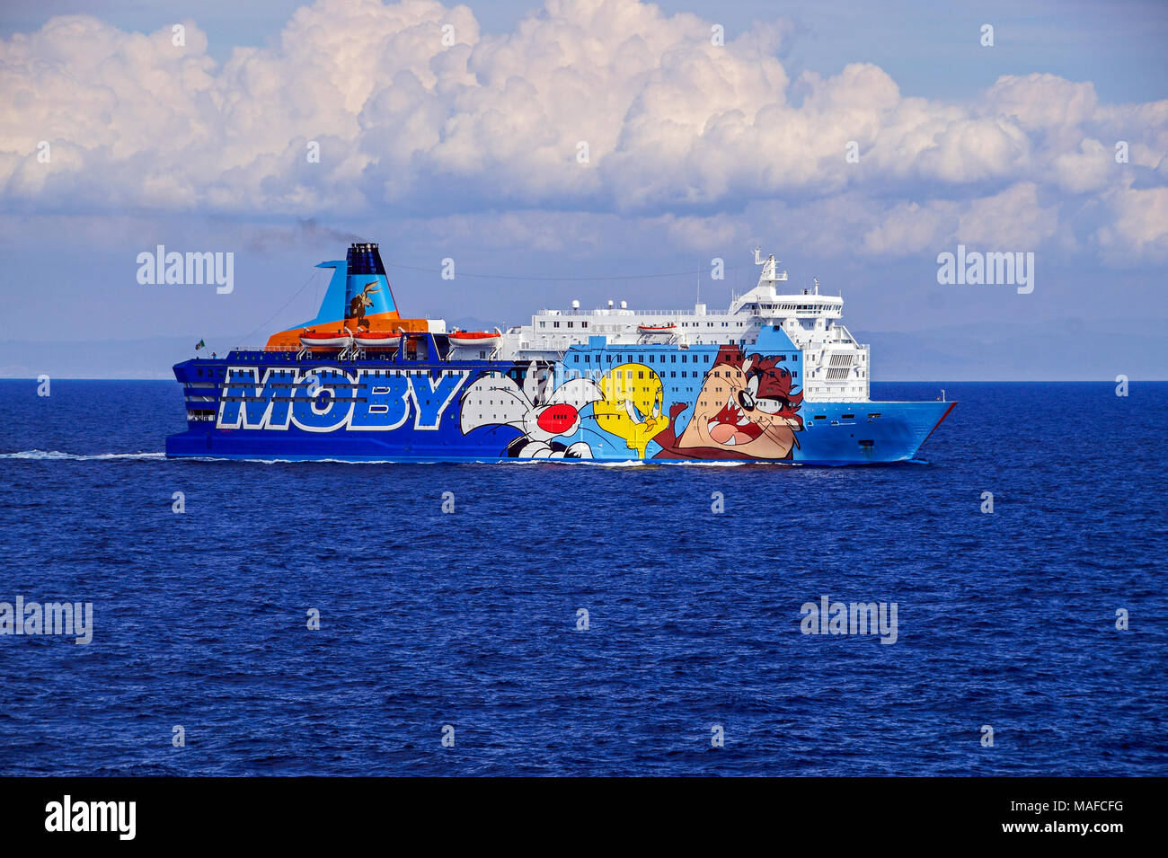 Livorno Olbia Ferry Ferry Moby Stock Photos And Ferry Moby Stock Images Alamy