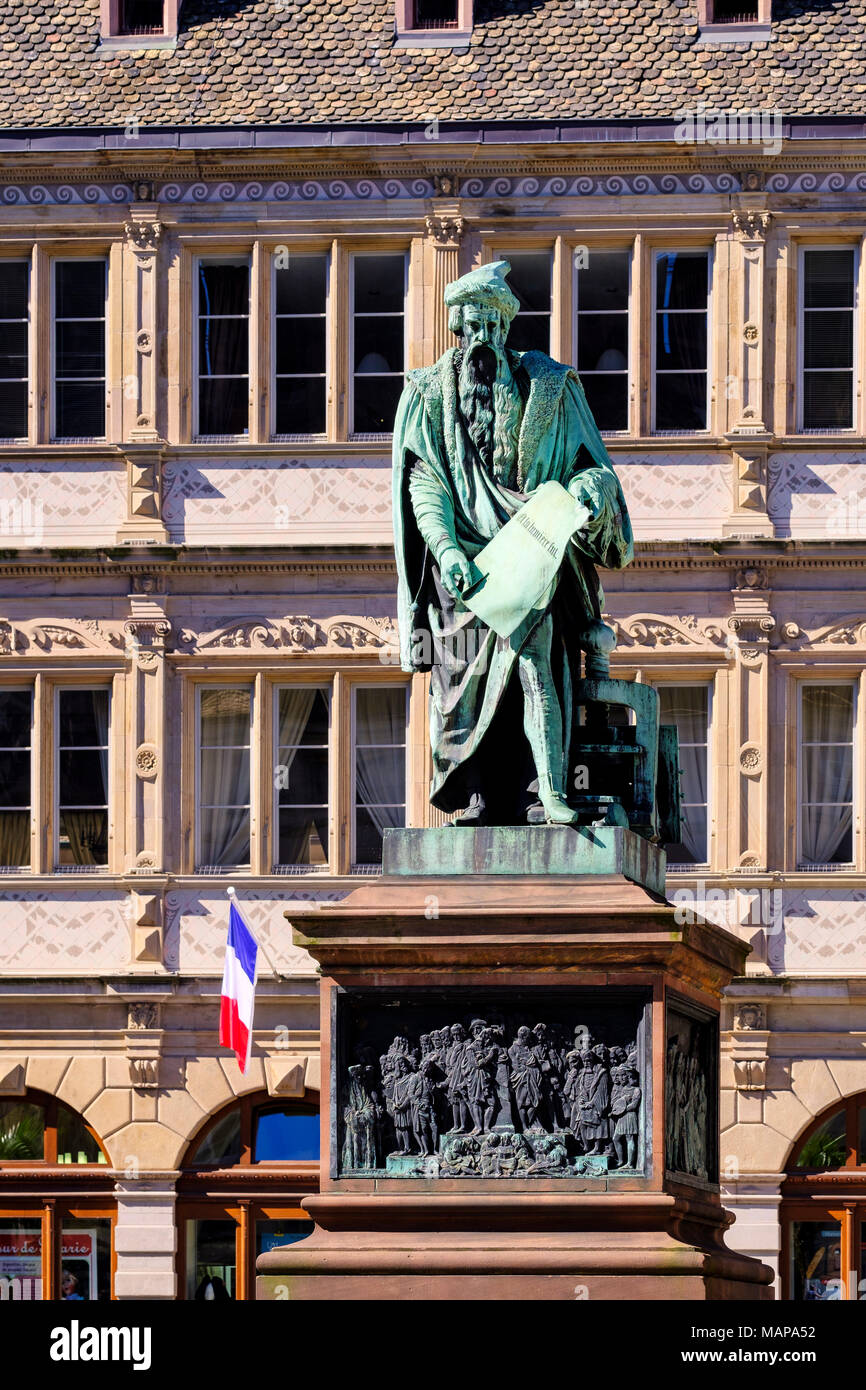 Chambre Du Commerce Strasbourg Gutenberg Square Stock Photos Gutenberg Square Stock Images Alamy