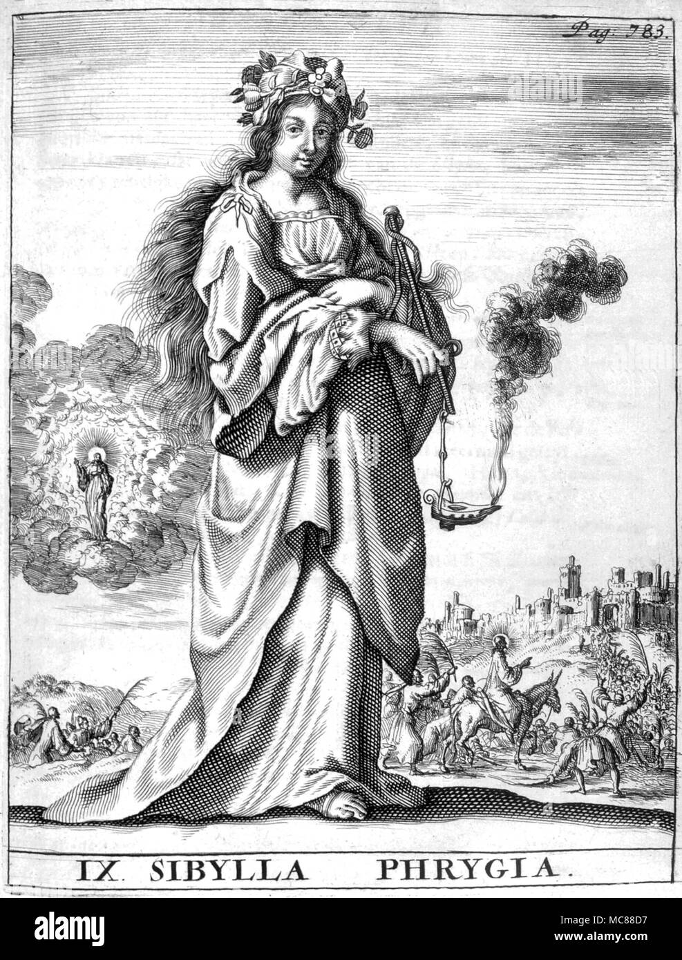 Spiegel Amsterdam Predictions And Prophecy The Sibyl Of Phrygia Form The 1685