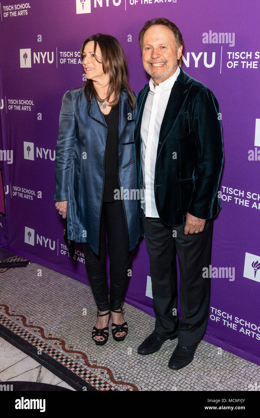 Janice Crystal Billy Crystal Attend Nyu Tisch School Of Arts 2018 - Nyu Tisch School Of Arts