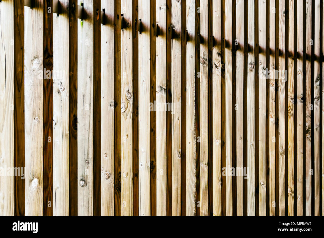 Vertical Wood Slat Wall Regular Pattern Of Vertical Wooden Slats At Chapel Of