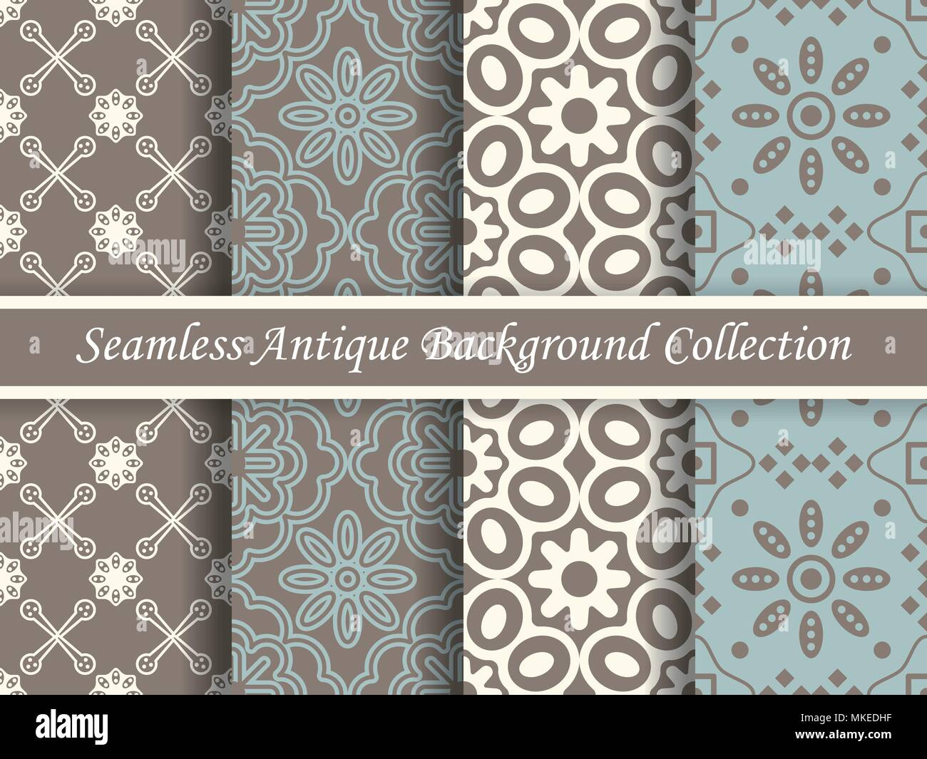 Tapeten Brauntöne Antique Seamless Elegant Brown Tone Background Image Collection