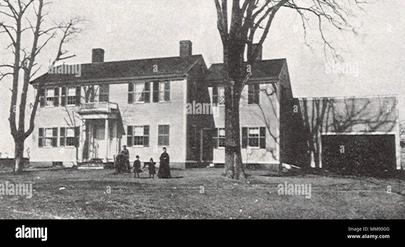 Suel Suel Winn Homestead Wakefield 1910 Stock Photo 184397264 Alamy