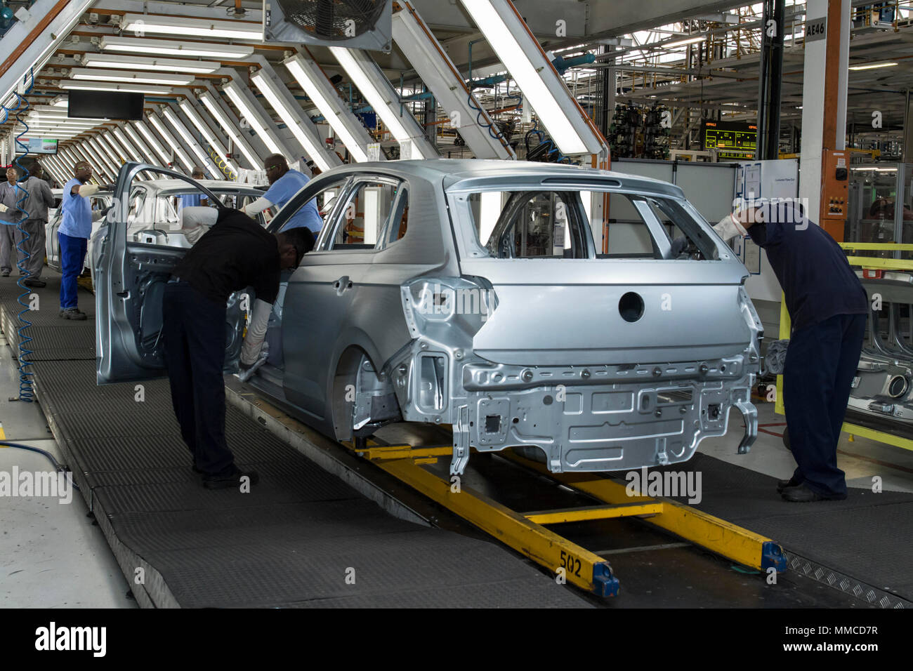 Car Manufacturers In South Africa 10 May 2018 South Africa Uitenhage Workers Of Automotive