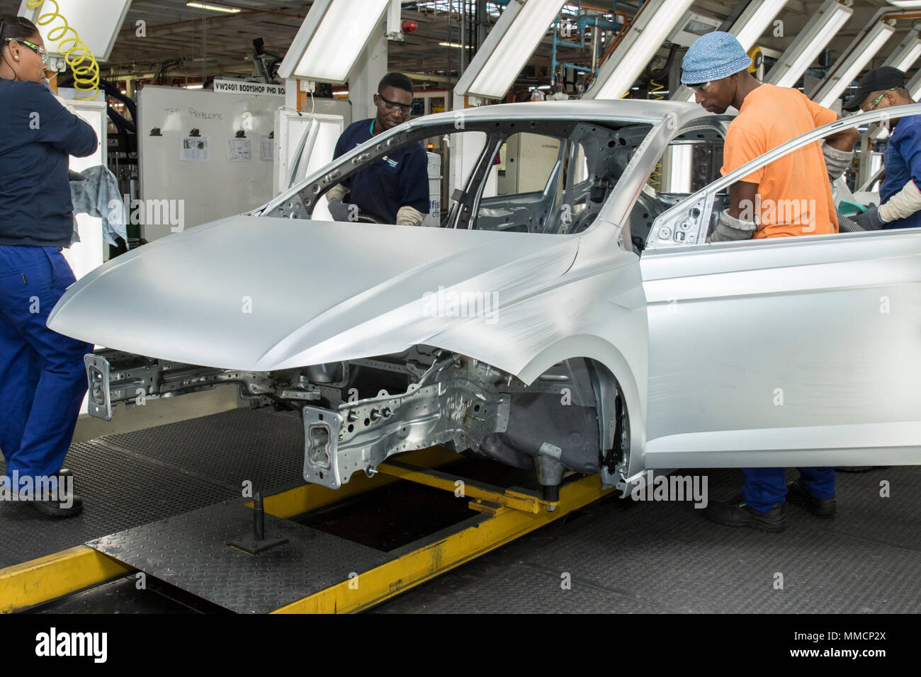 Car Manufacturers In South Africa 10 May 2018 South Africa Uitenhage Employees Work On