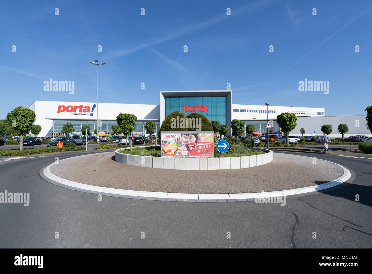 Porta Furniture Store In Cologne Founded In 1965 Porta Has Become One The Largest Furniture Retailer In Germany Stock Photo Alamy