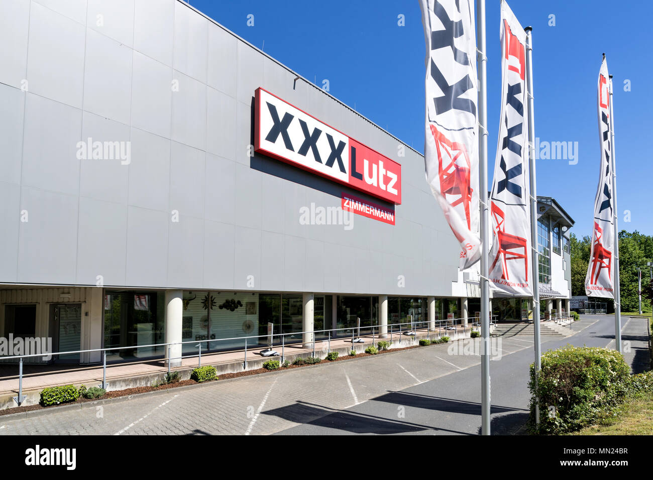 Xxlutz Linz Austria Retail Facade Stock Photos Austria Retail Facade Stock