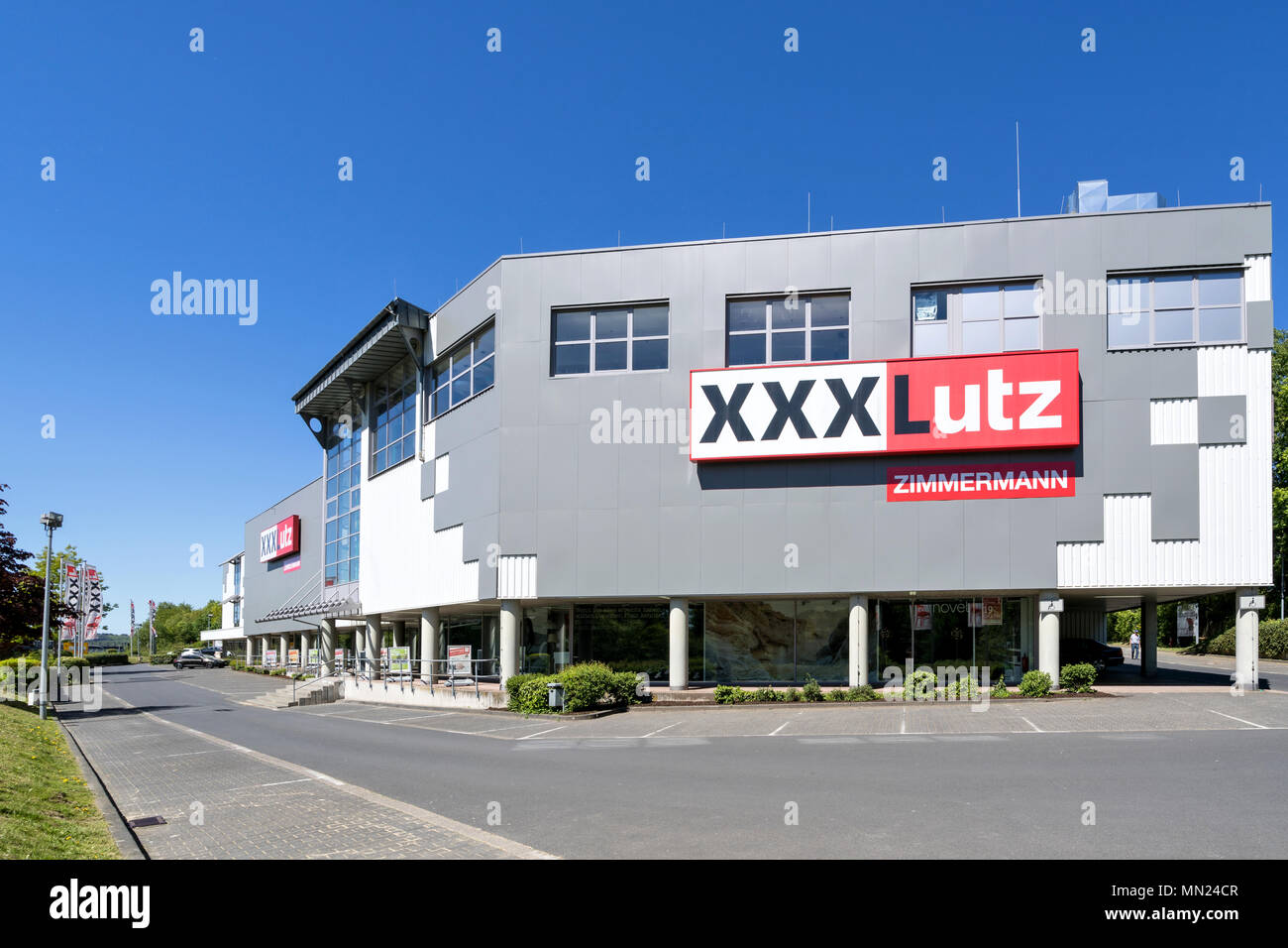 Xlutz Graz Austria Retail Facade Stock Photos Austria Retail Facade Stock