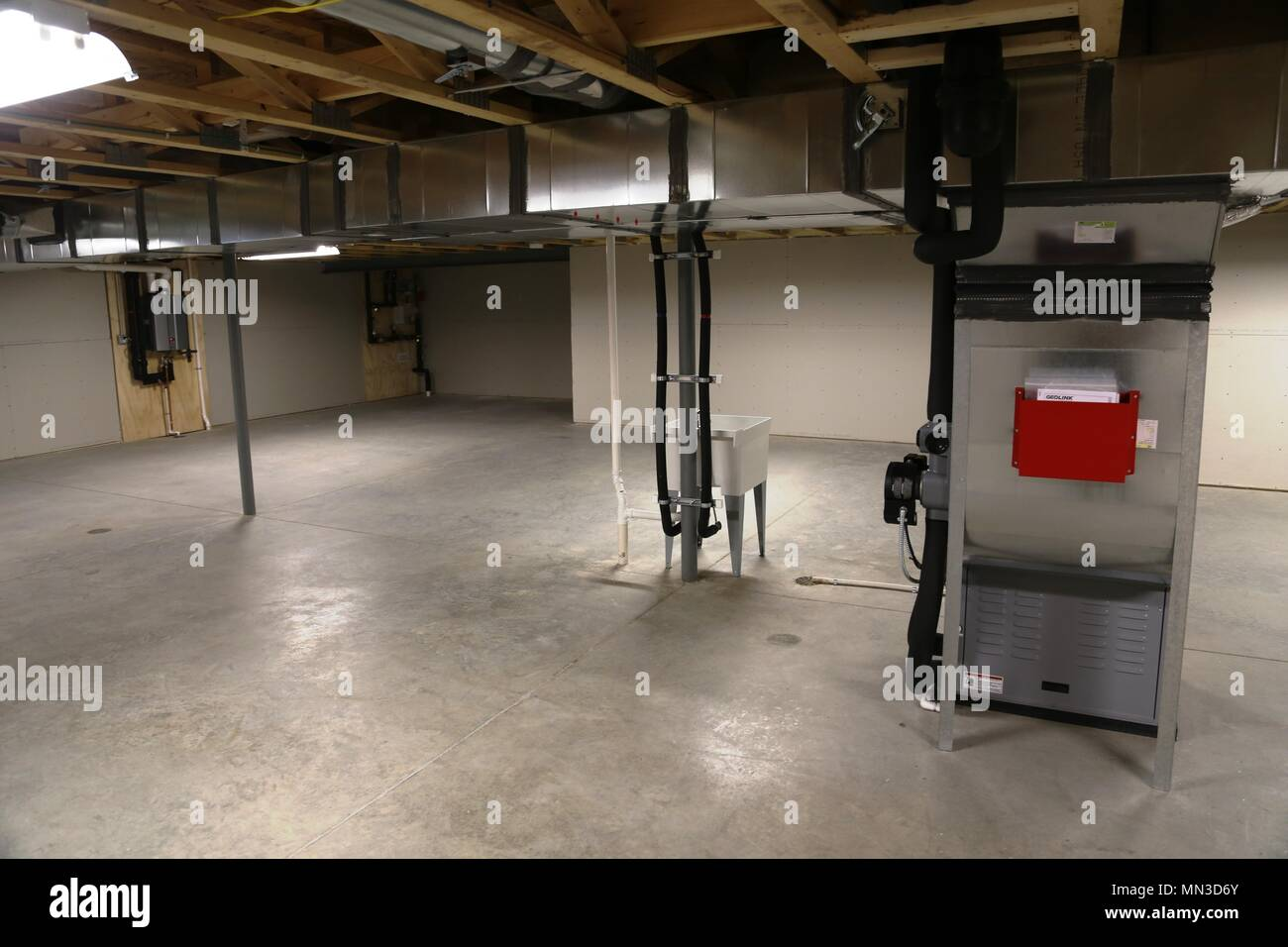 Garage Heater Minnesota A Room Inside One Of 56 New Homes Built For South Post Housing At
