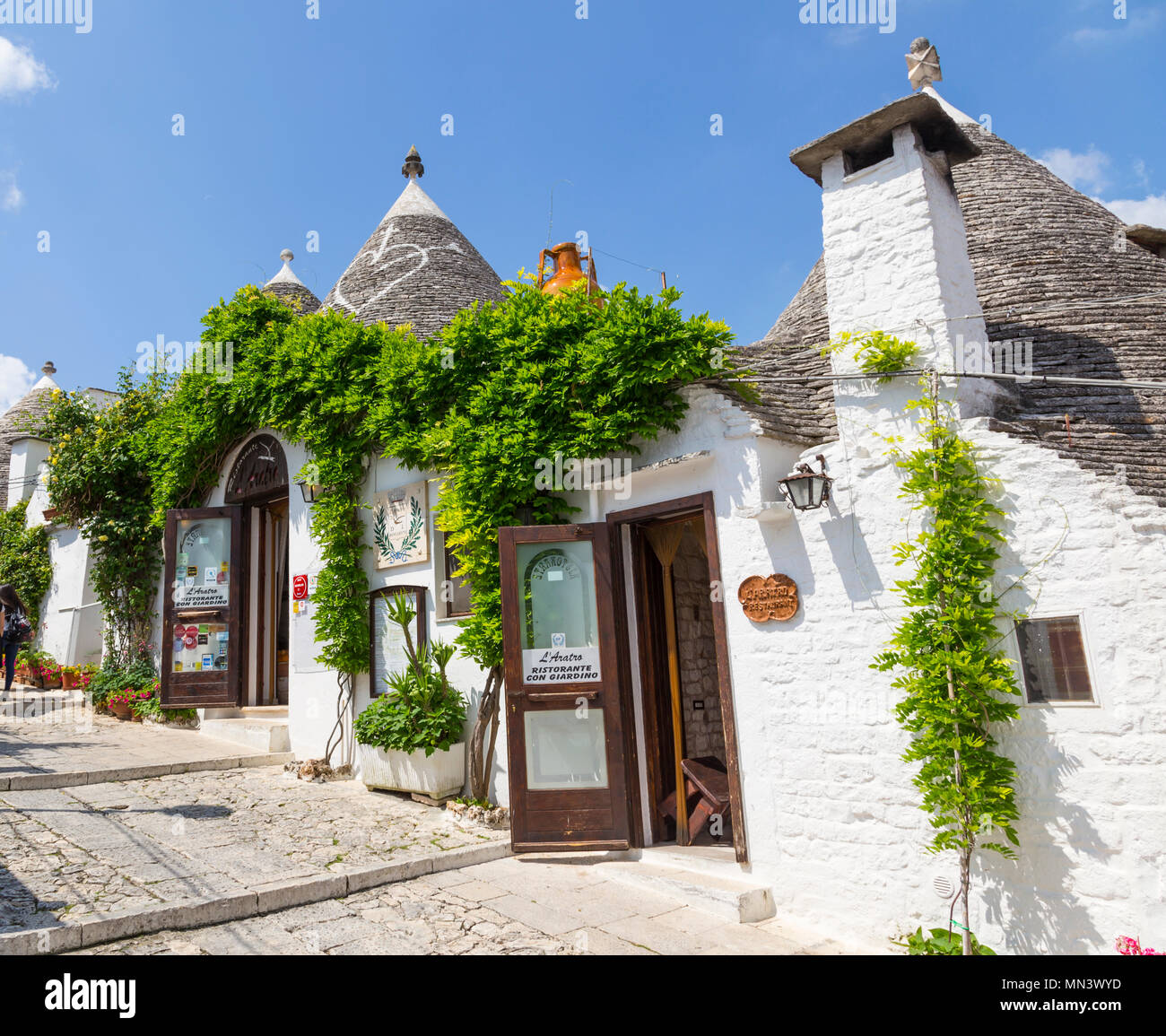 Ristoranti Alberobello Trulli Homes In Alberobello Italy Stock Photo 185097681 Alamy