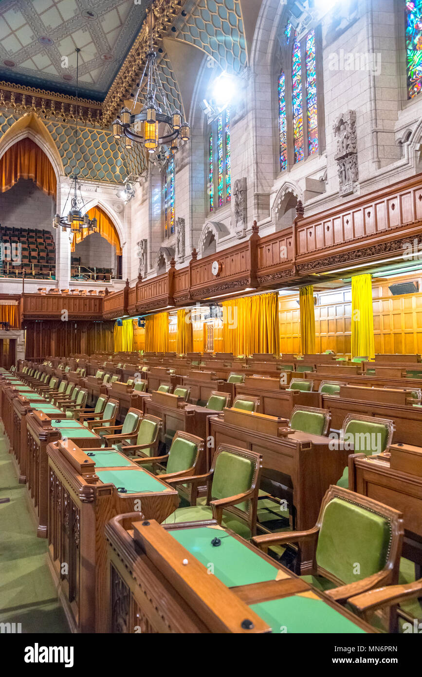 House Builders Ottawa Interior Of The Federal Parliament Building Of Canada House Of
