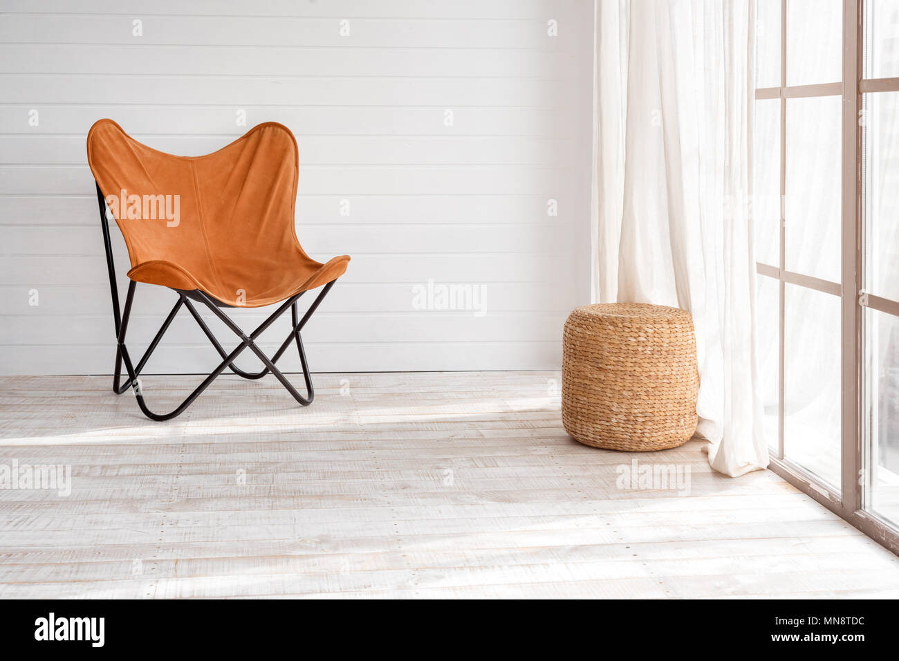 Sessel Loft Style Modern Armchair In Modern Loft Interior Sunny Day In Light Living