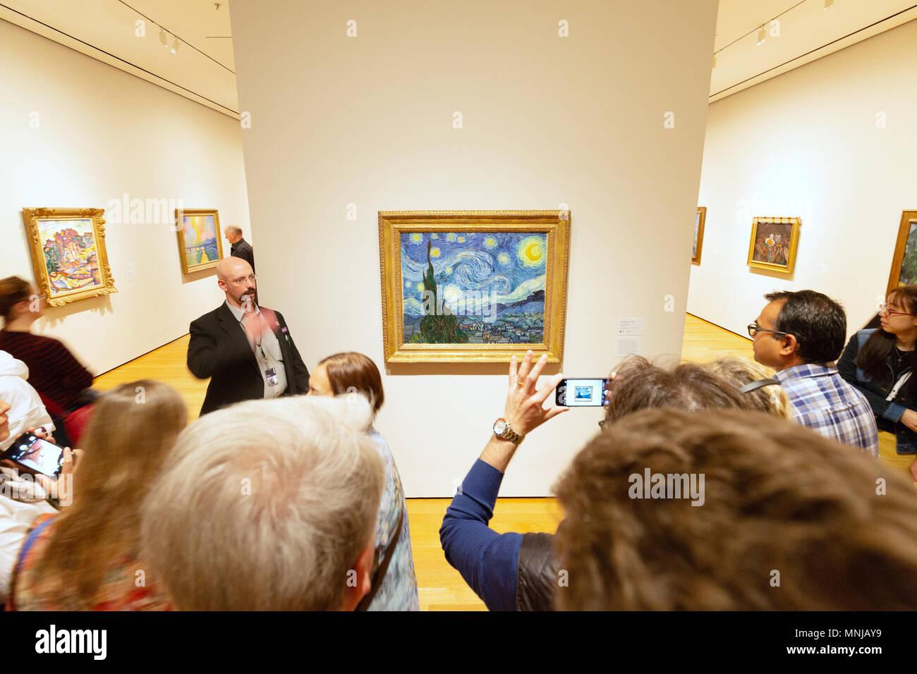 Vincent Van Gogh The Starry Night Stock Photos Vincent