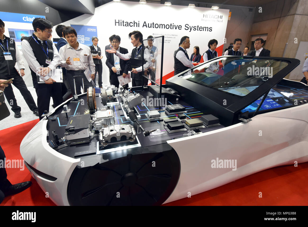 Vehicle Manufacturers In Japan Yokohama Japan 23rd May 2018 The Automotive Engineering