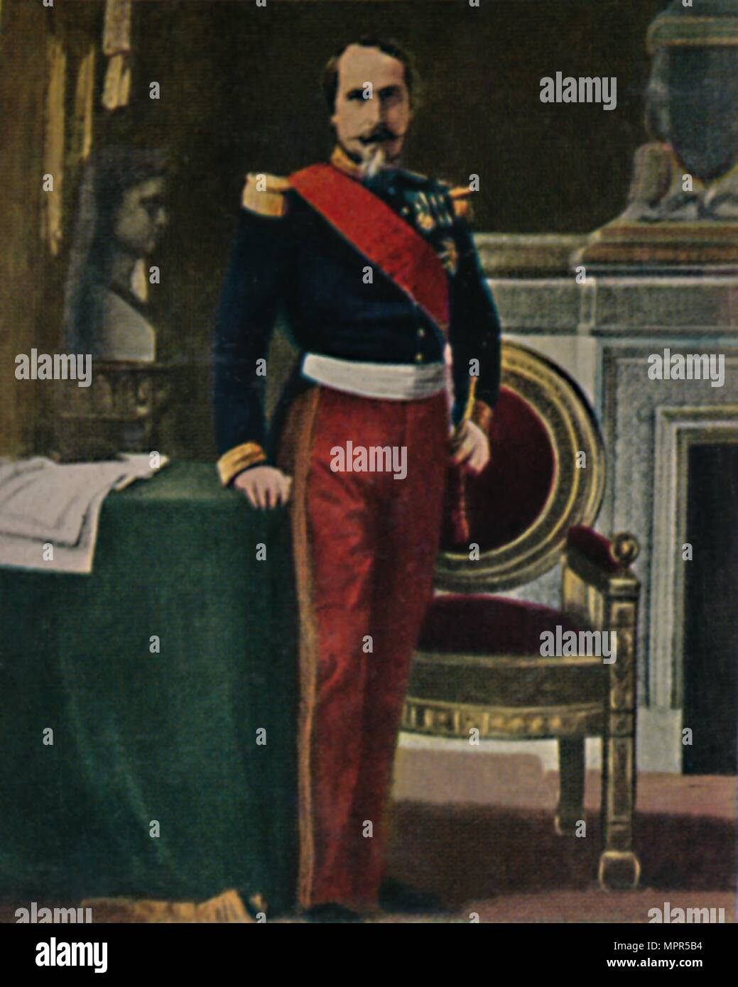 Kaiser Bonaparte Tapijt Napoleon Iii Stock Photos Napoleon Iii Stock Images Alamy