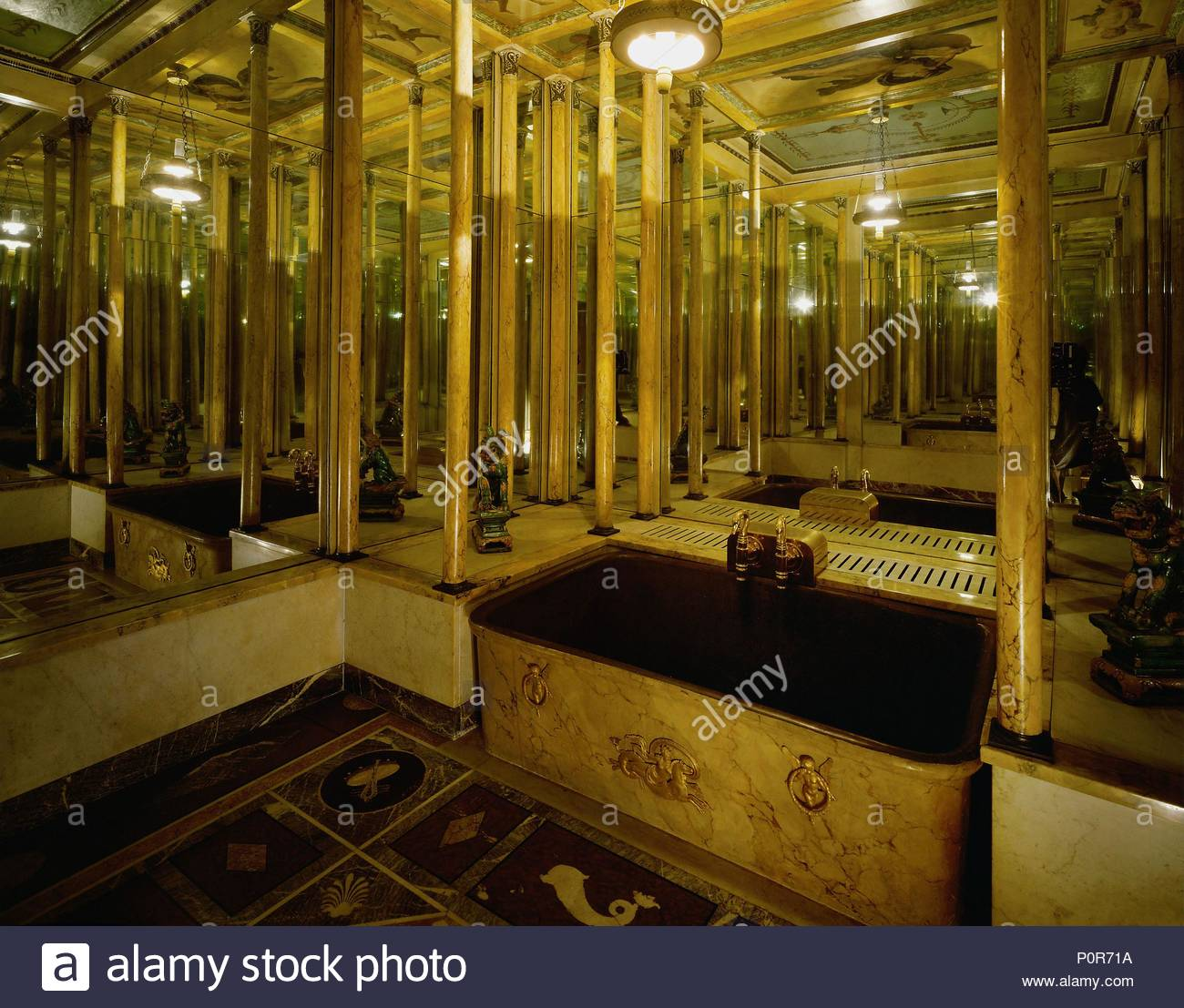 Bathroom With Mirrors Bathroom Of Eugene De Beauharnais 1781 1824 Josephine S Son