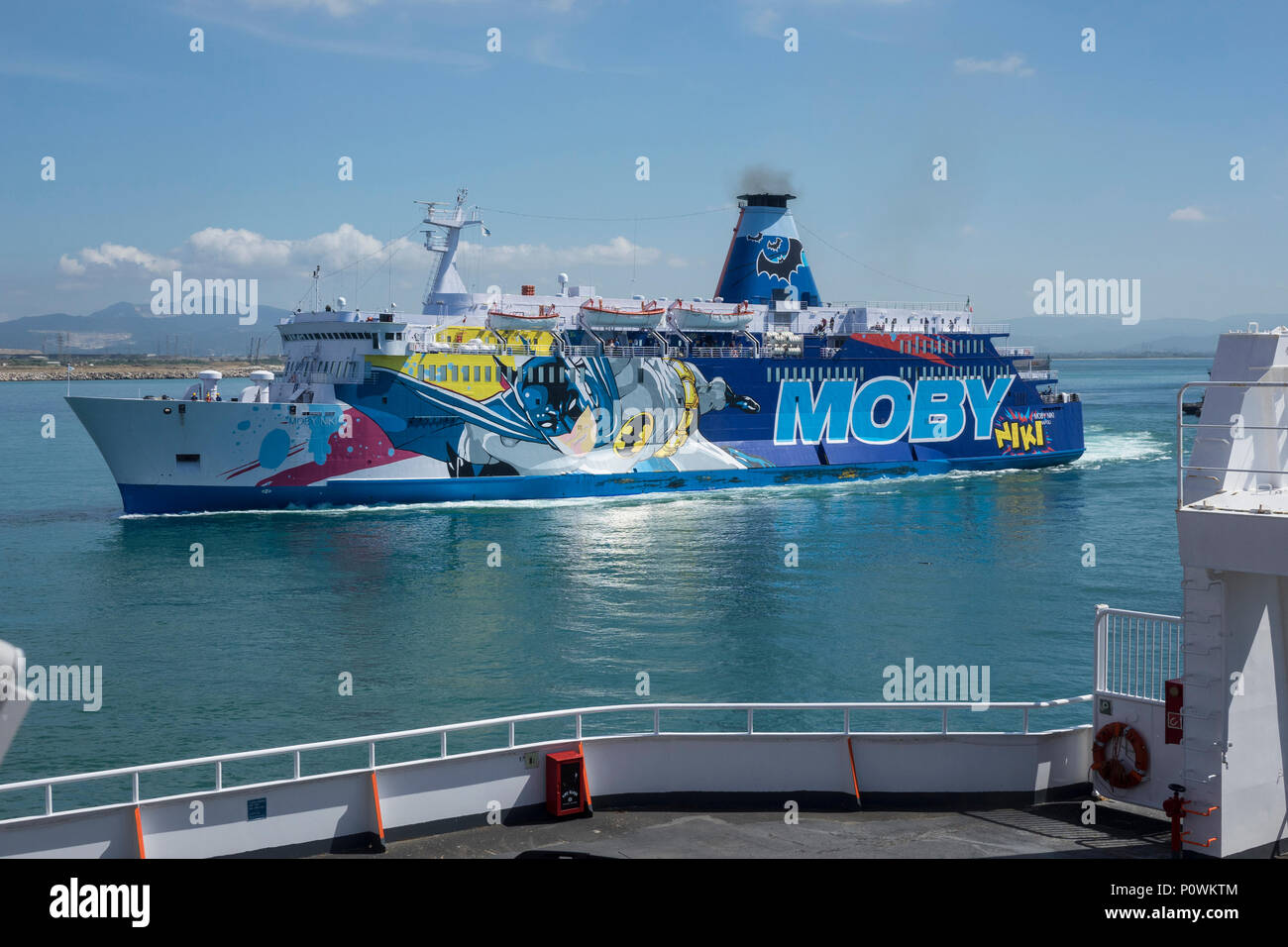 Livorno Olbia Ferry Moby Ferry Stock Photos And Moby Ferry Stock Images Alamy