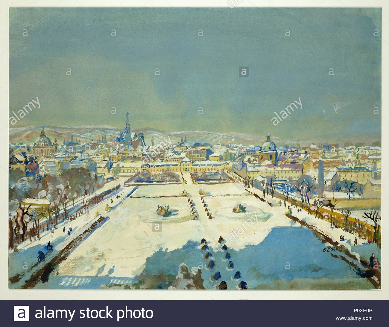 Pool Im Garten Winter Winter Im Belvedere Garten Winter In The Belvedere Gardens 1944