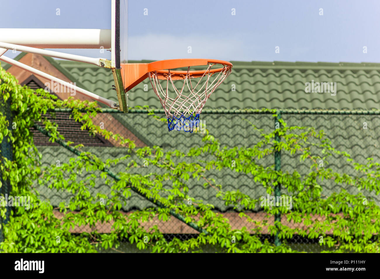 Basketball Hoop Perth Basketball Court In Perspective View Stock Photos Basketball
