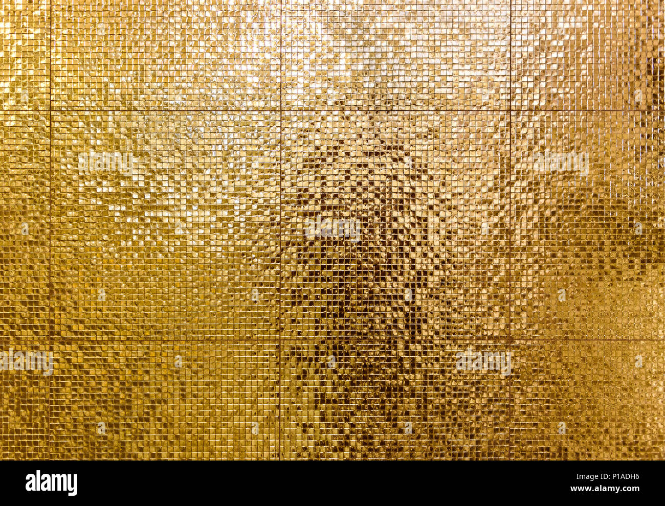 Wallpaper Stone 3d Luxury Gold Mosaic Tiles Background For Bathroom Or