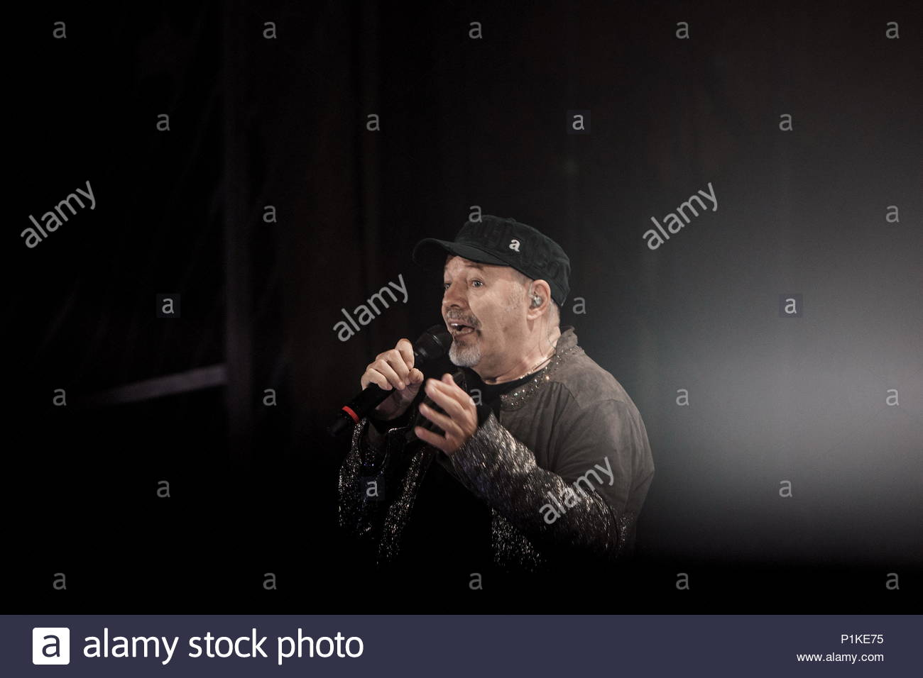 Vasco Non Stop Download Rome Italy 11th June 2018 Vasco Rossi Performs On Stage During