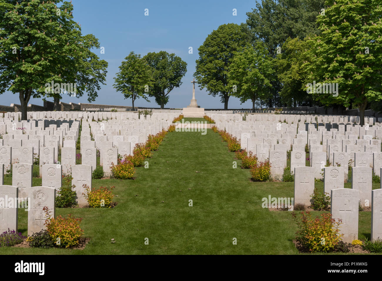 Serre 1 Meter Serre Road Cemetery No 1 Somme France Stock Photo 207730168