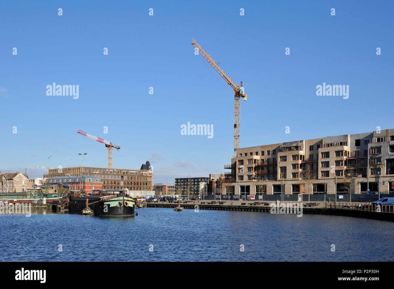Construction Bois Lille France Nord Lille Bois Blancs District Port And