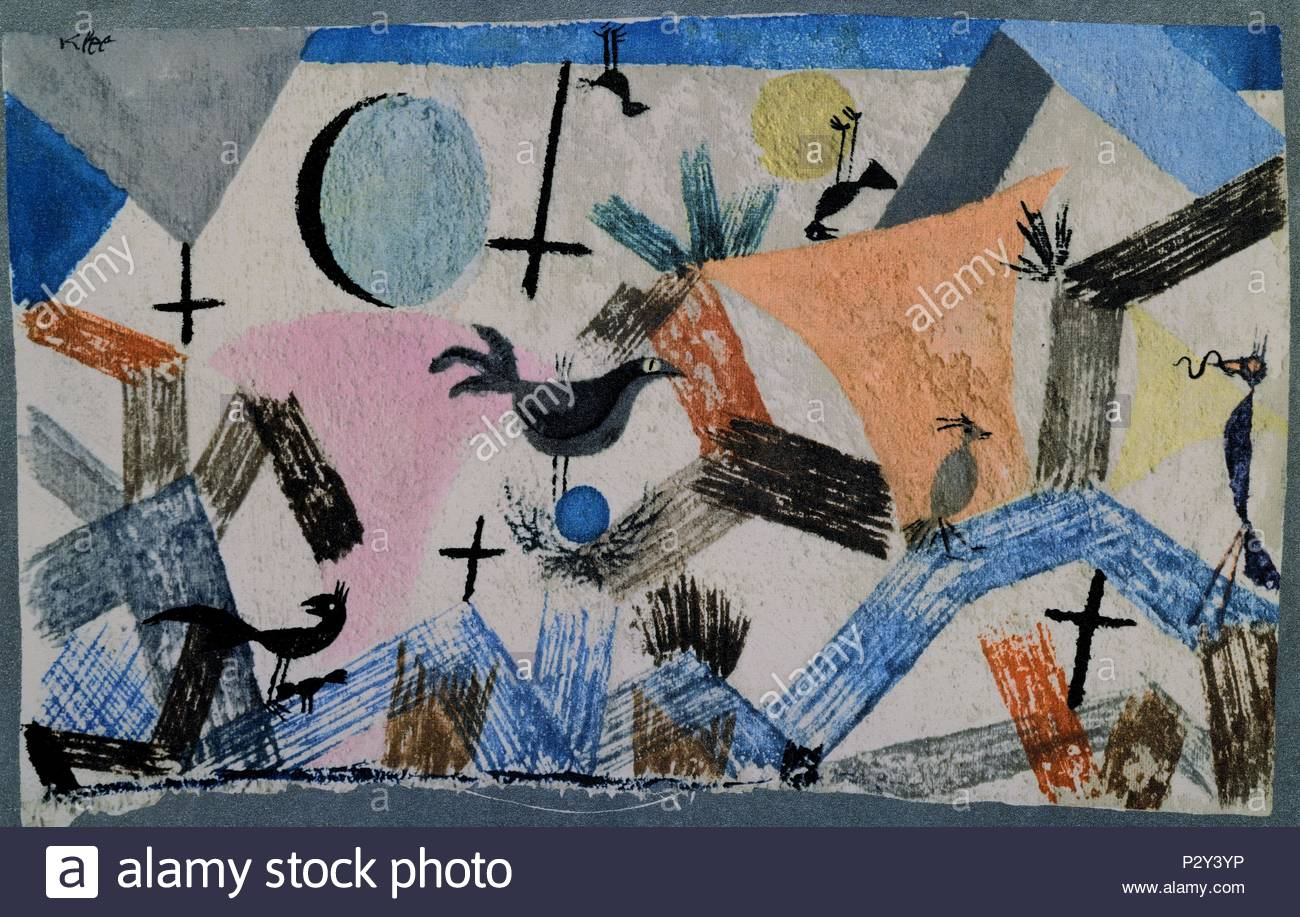 Paul Klee Pinturas Paul Klee 1879 1940 Stock Photos And Paul Klee 1879 1940