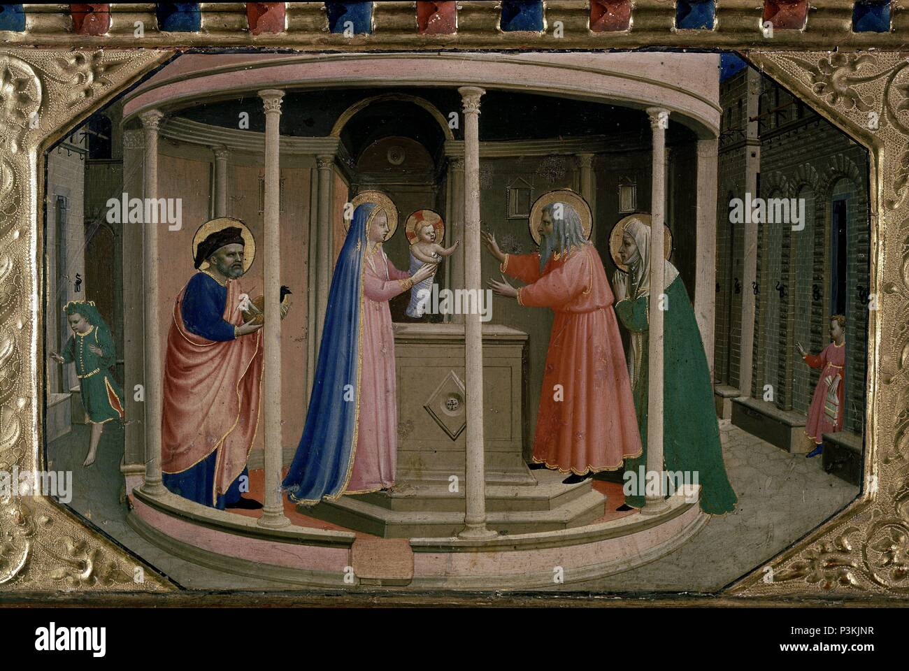 Pinturas Del Museo Del Prado Madrid Annunciation Fra Angelico Stock Photos And Annunciation Fra