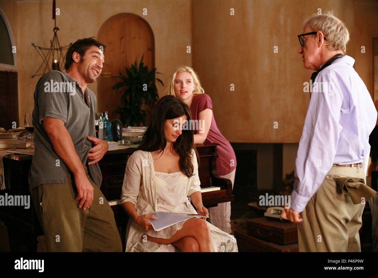 El Salon De Antena 3 Original Film Title Vicky Cristina Barcelona English Title