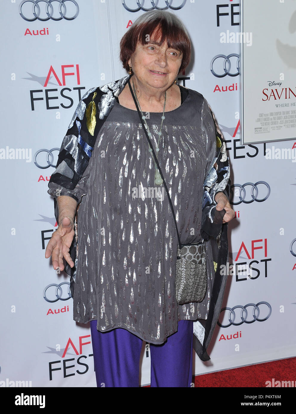 Agnes One Step Gamma Agnes Varda At Mr Banks Premiere At The Tlc Chinese Theatre In Los