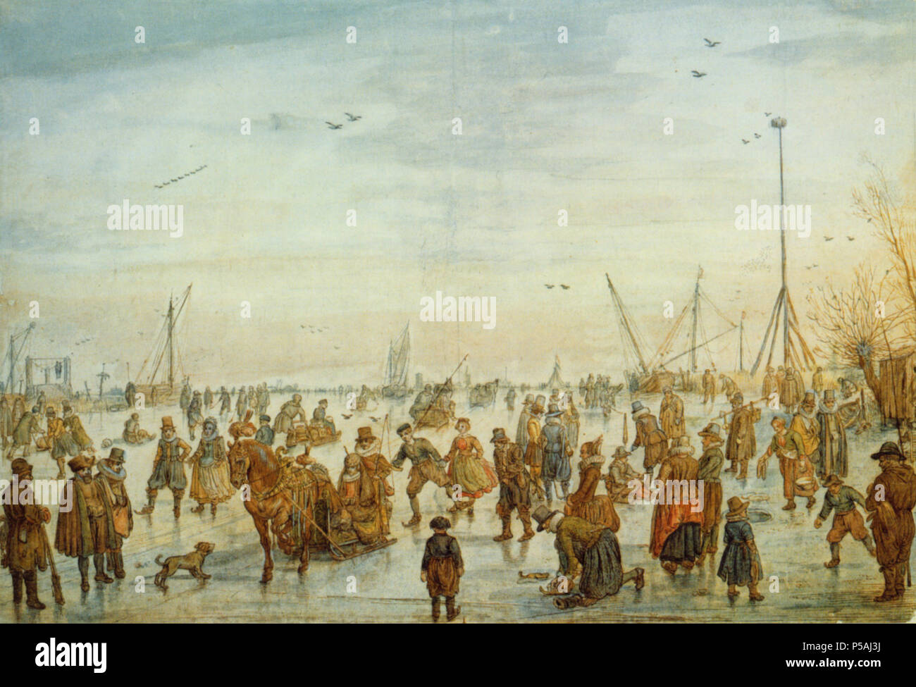 De Stomme Van Kampen Hendrick 1585 1634 Stock Photos Hendrick 1585 1634 Stock Images