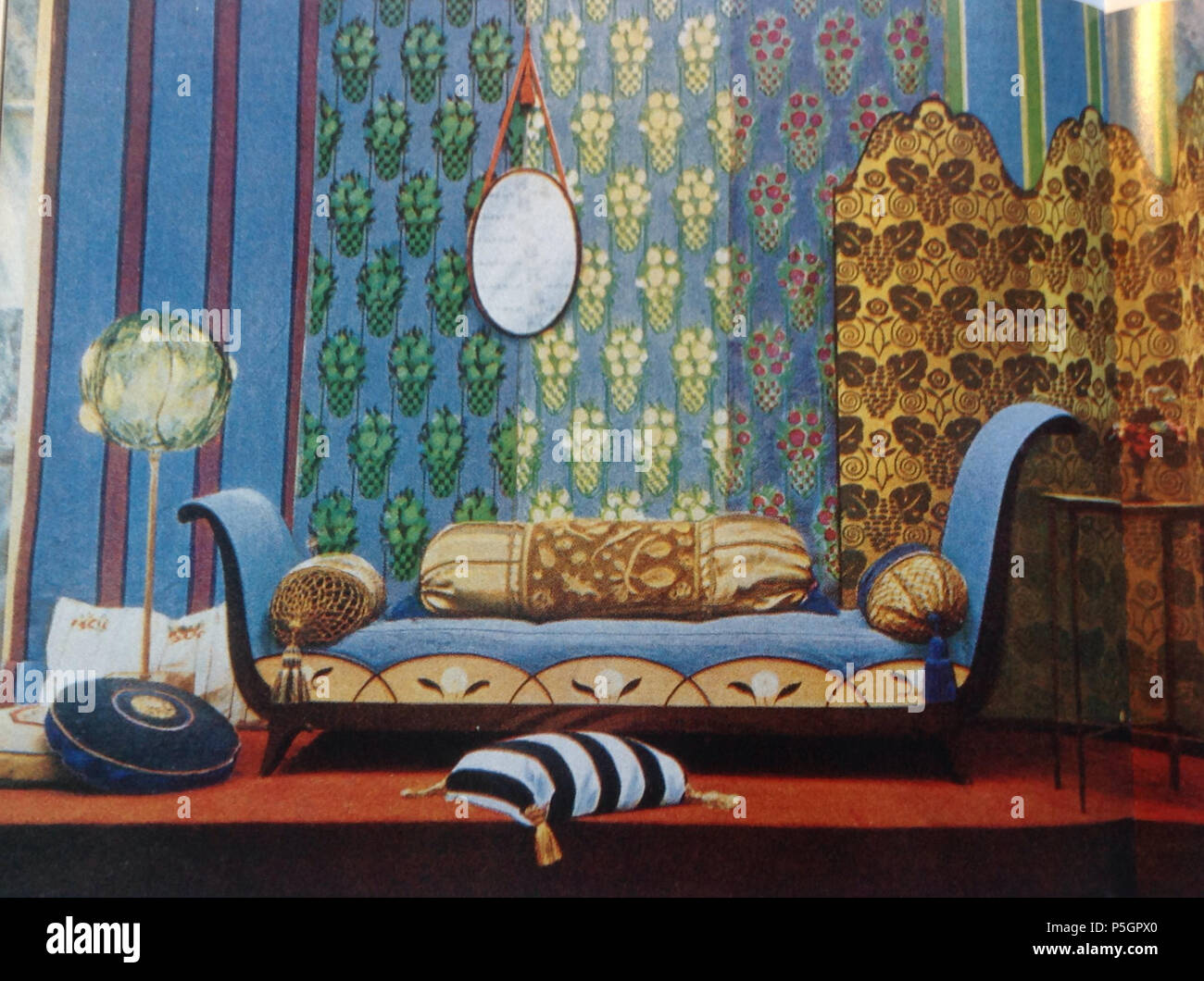Art Decoration Magazine English N A English Display Of Furniture By The Atelier Français At The