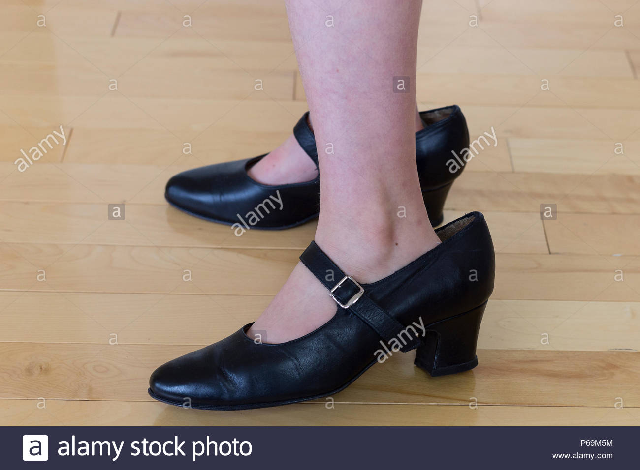 Young Girl Wearing High Heel Shoes Stock Photos Young