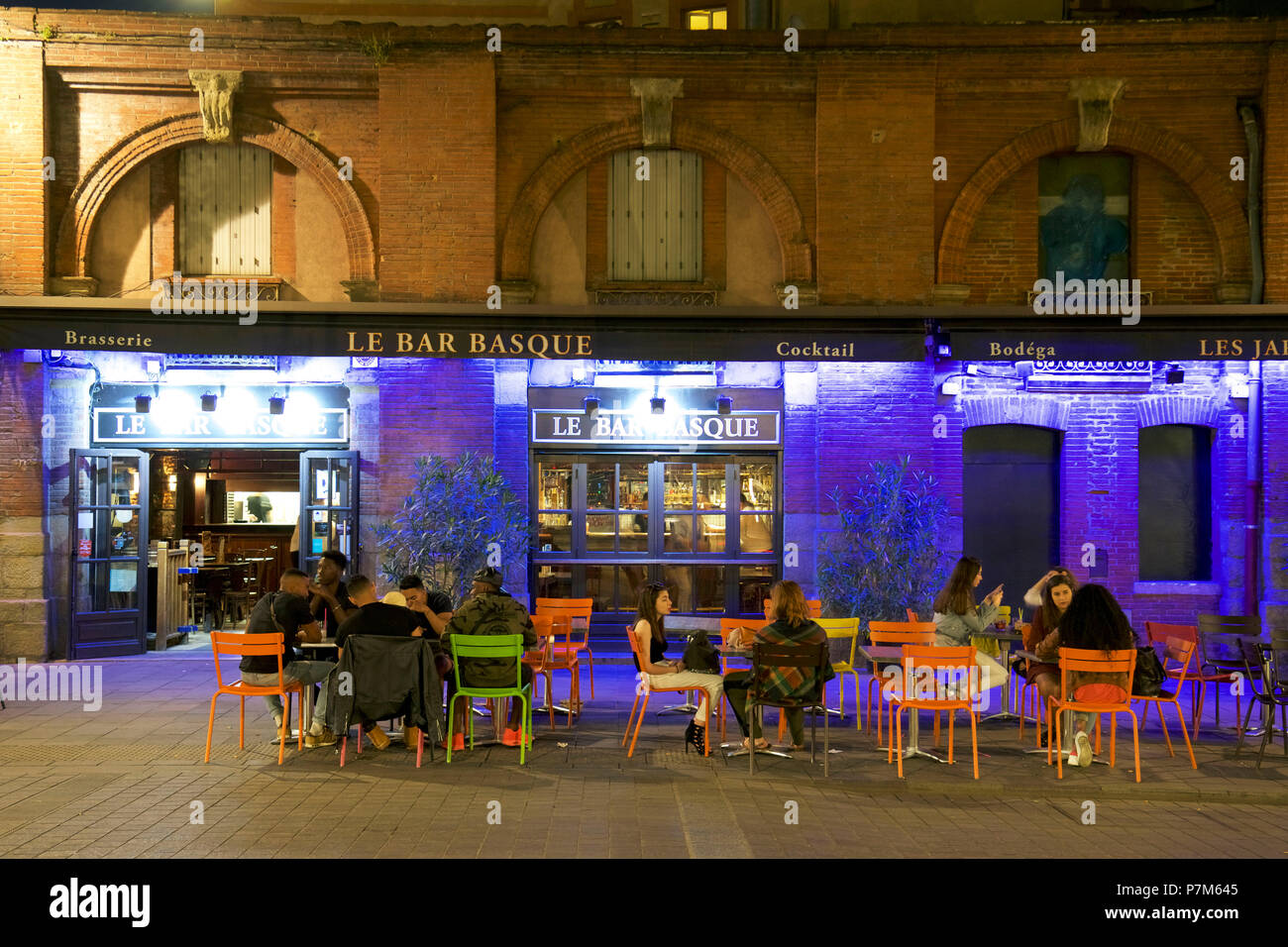 Bar En Pierre France Haute Garonne Toulouse Banks Of The Garonne River Place