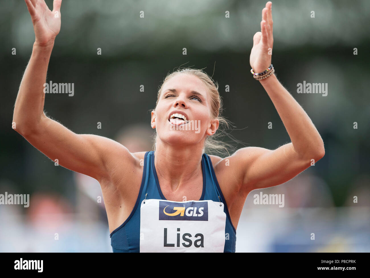T-online.e Lisa Linnell Sew Gesture Gesture High Jump Athletics