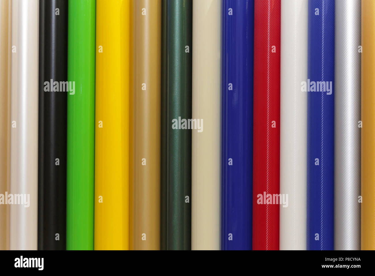 Vinyle Pvc Color Vinyl Pvc Plastic Foils Stock Photo 211726854 Alamy